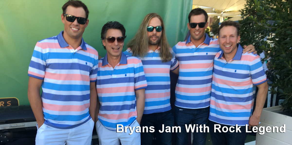 Bryan Bros Jam with Rock Legend