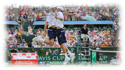 Bryans Bros Win Doubles Davis Cup Match in Melbourne